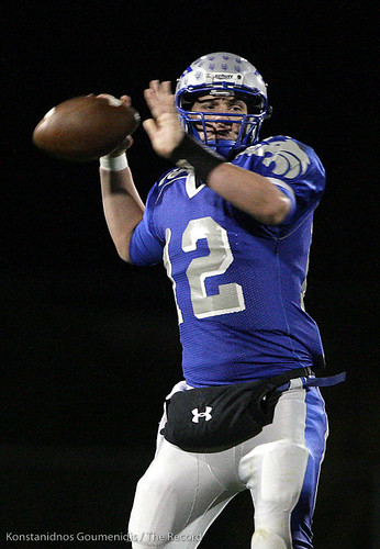 Sierra High School Football against Rosemont Playoffs - Jake Pruitt (12)