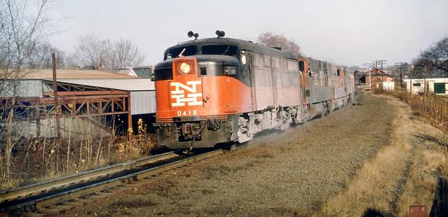 New Haven Railroad Der 2a Alco Fa 1 Locomotive 0418 Is