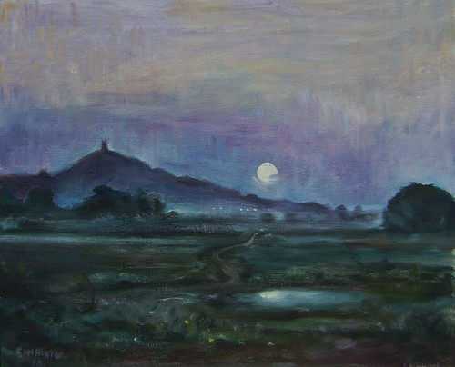 Glastonbury Tor My painting