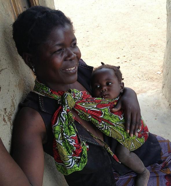 Tasila Phiri and her daughter Dialess Daka