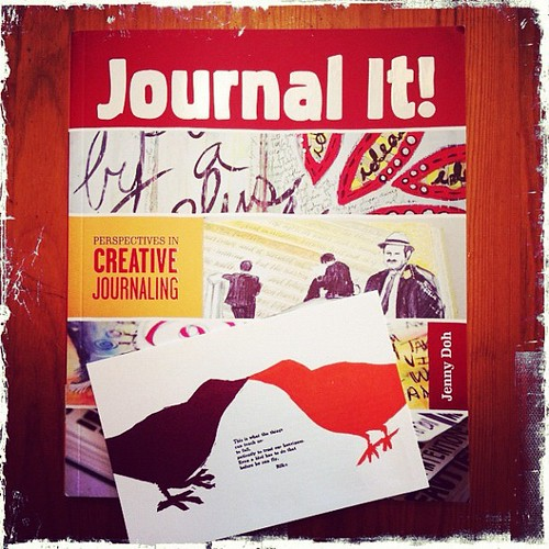 Super excited to review #journalit by @jennydoh featuring one of my favorite art sisters- Melanie Mowinski of #PRESS. XoS