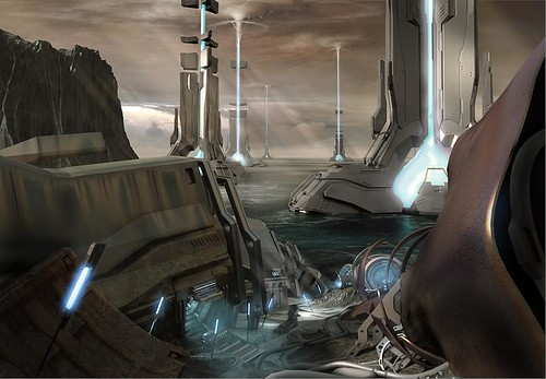 Halo 4 War Games Maps Concept Art