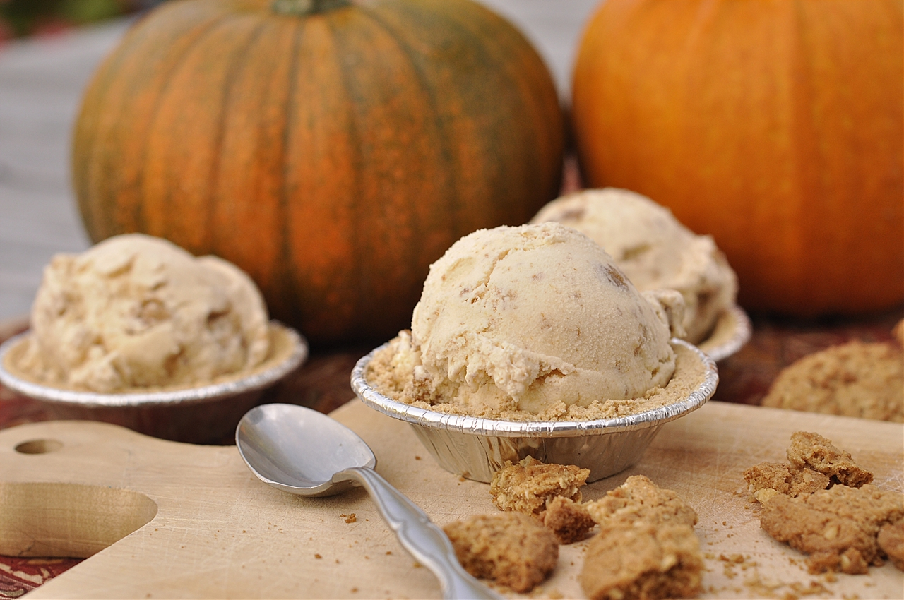 Pumpkin Pie Ice Cream | Flickr - Photo Sharing!