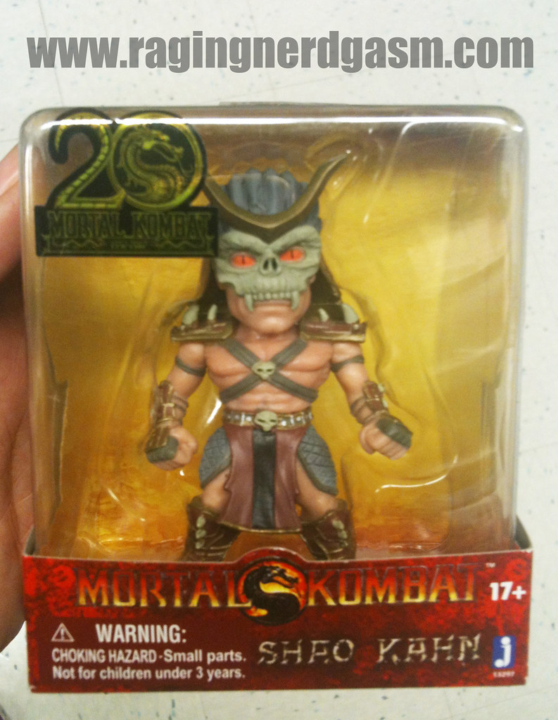 Mortal Kombat Mini Figurines Shao Kahn by Jazwares 006
