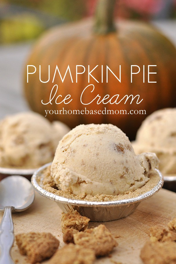 pumpkin pie ice creamrs