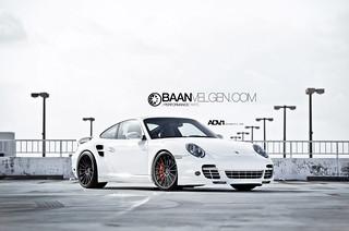Porsche 997 turbo adv1 wheels