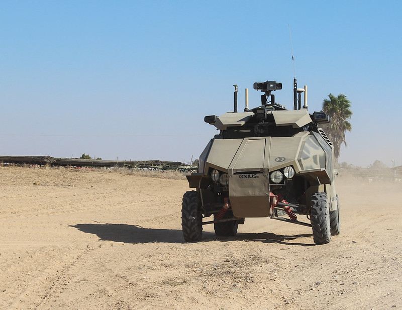 Israeli Made Guardium UGV