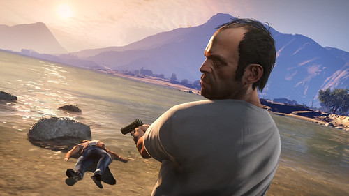 NEW GTA SCREENSHOTS. Rockstar games released  new grand theft auto v screenshots xbox 360 ps3 pc