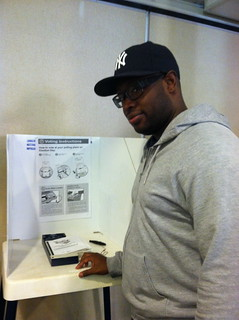 Sean votes