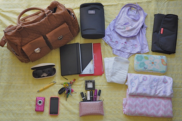 What's In My (Nappy) Bag