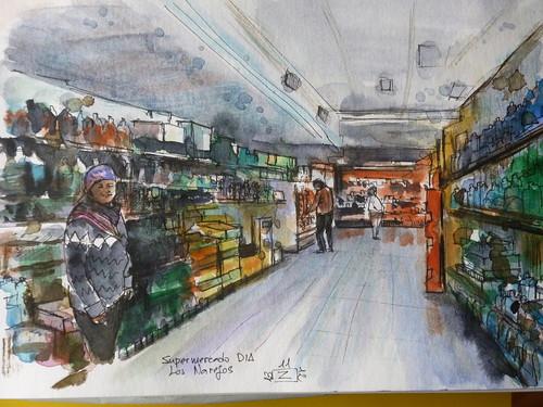 Supermercado Los Narejos. Los Alcazares. Murcia