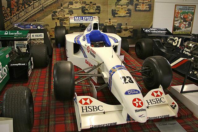 Jan Magnussen's 1997 Stewart Racing SF01 Formula One Car at The Donington Collection