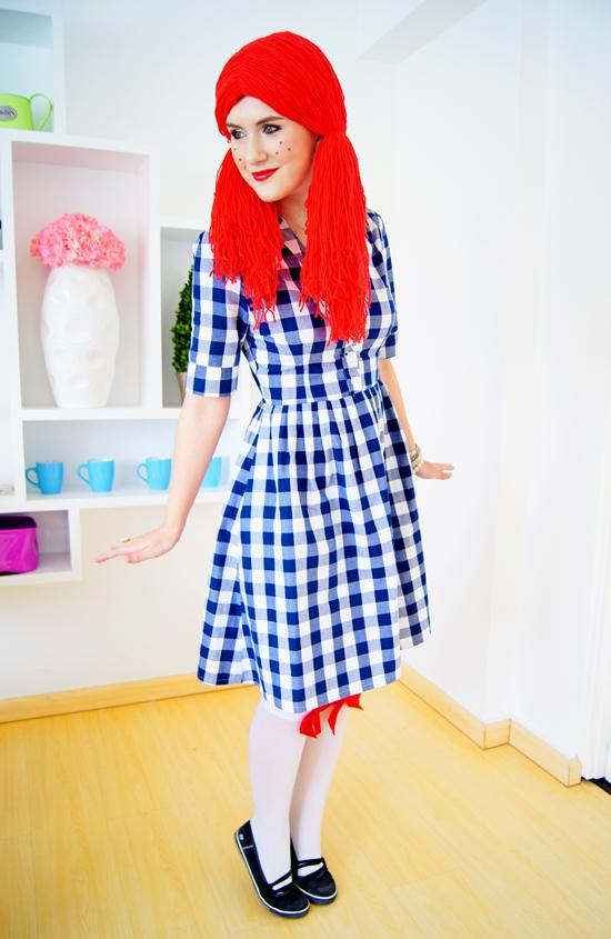 The Joy Of Fashion Diy Halloween Costume Rag Doll