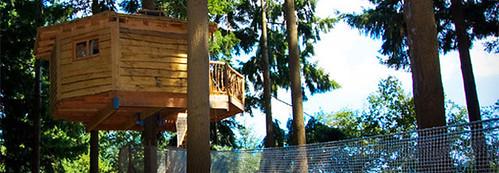 Dormir en una casa rbol ahora es posible selectahotels - Casas en los arboles sant hilari ...