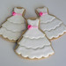 Flower Girl Dress Cookies by Sugar Mama Cookies - SAN FRANCISCO BAY AREA