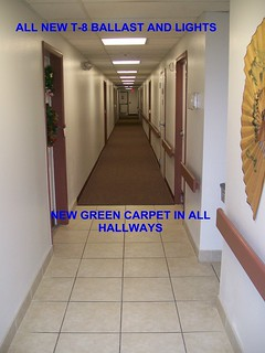 Greencastle Upgrades Lighting & Carpet