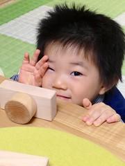 木製カメラととらちゃん (2012/11/17)