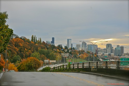 Skywatch Friday:  Autumn Along I-5 by Seattle Daily Photo