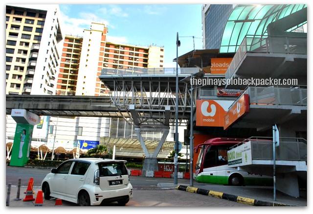 parking area of Colmar Tropicale van
