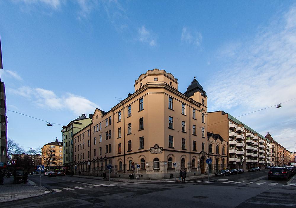 Maria Brandstation, krukmakargatan/rosenlundsgatan