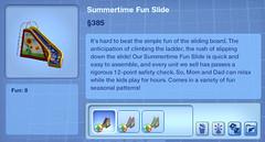 Summertime Fun slide