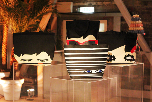Lulu Guinness SS13 bags with eyes