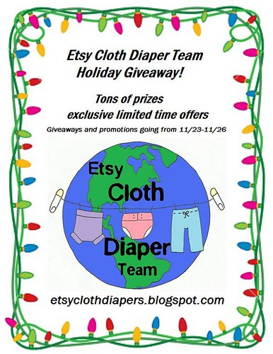 etsy cloth diaper holiday giveaway