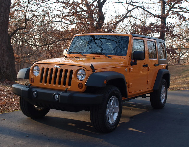 2013 Jeep Wrangler Unlimited Sport 8