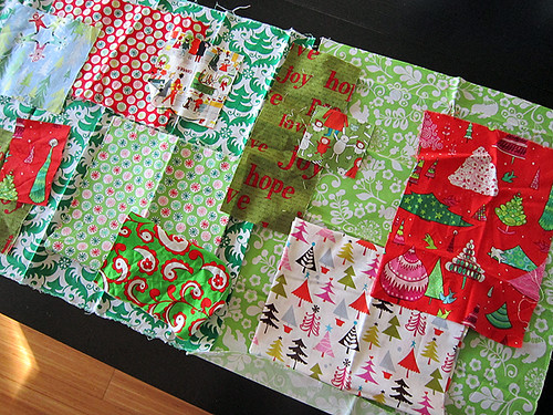 holiday Patchwork Mat!