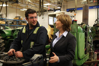 Premier Announces New Skills Training Equipment at Northern Lights