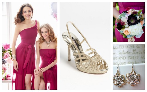 {Modern + Colorful} Bridesmaid's Style by Nina Renee Designs