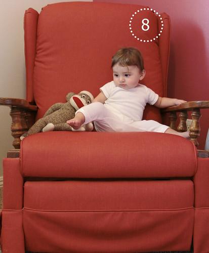 Alice Linda, 8 months