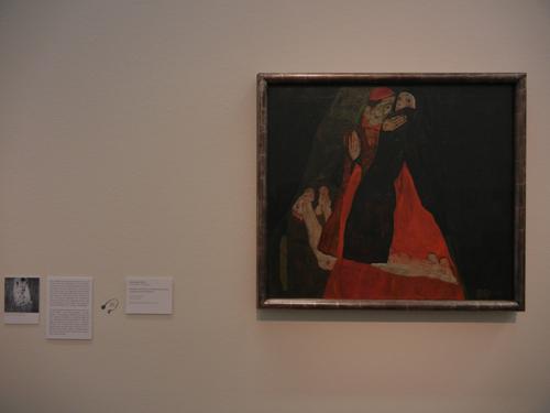 DSCN0924 _ Kardinal und Nonne, Egon Schiele, Leopold Museum