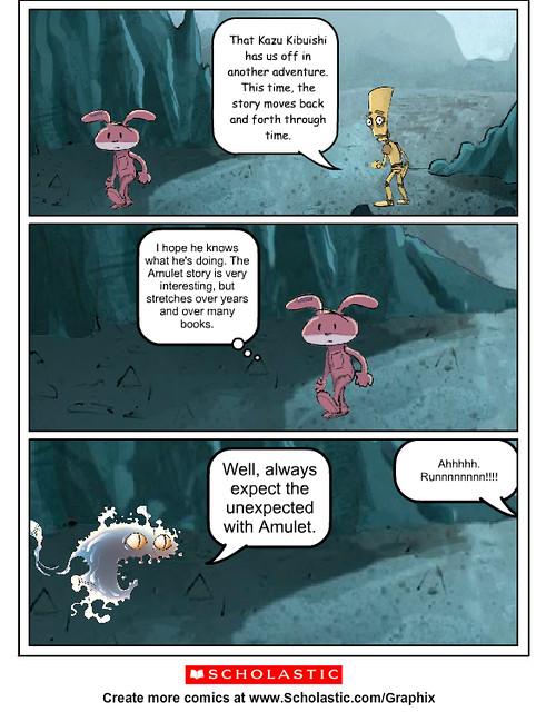 Amulet Comic Creator