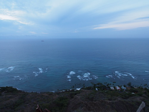 Diamond Head からの眺望