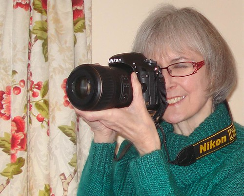 Jane with her new Nikon D600