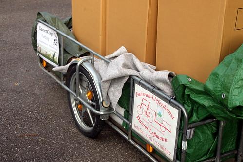 leben ohne auto: möbel mit dem fahrradlieferdienst bringen lassen.