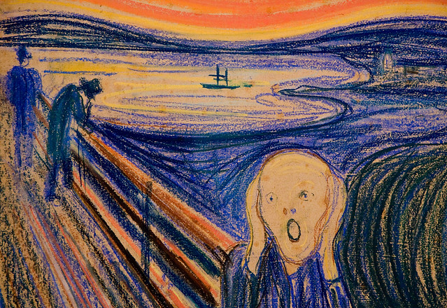 Munch, The Scream, MoMA