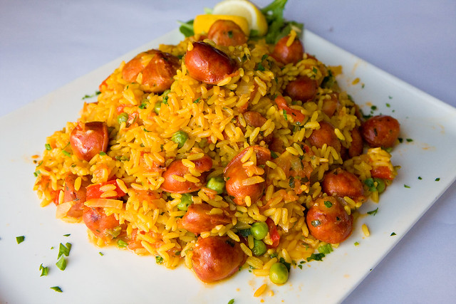 Spicy chorizo paella, El Mio Cid