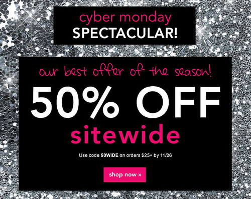 e.l.f. elf cosmetics code discount coupon sale % 50% cyber Monday makeup make up