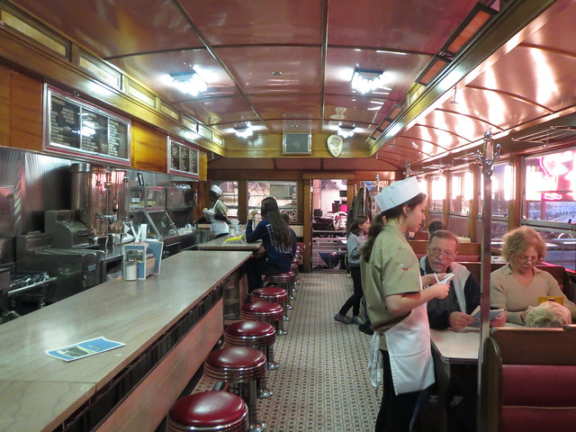 Prefab 50s diner inside of the museum | Henry Ford Museum ...  Prefab 50s dine...