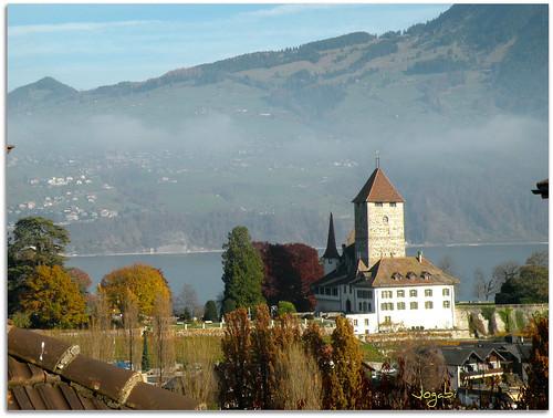 Château de Spiez - Canton de Berne (Switzerland) by Jogabi-Michèle