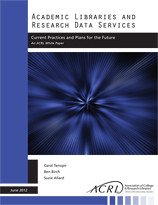 Academic Libraries and Research Data Services