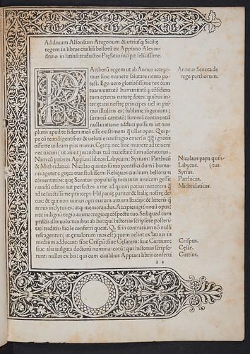 Woodcut border in Appianus: Historia Romana (Partes I-II)