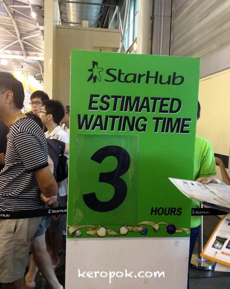 3 Hour Wait....