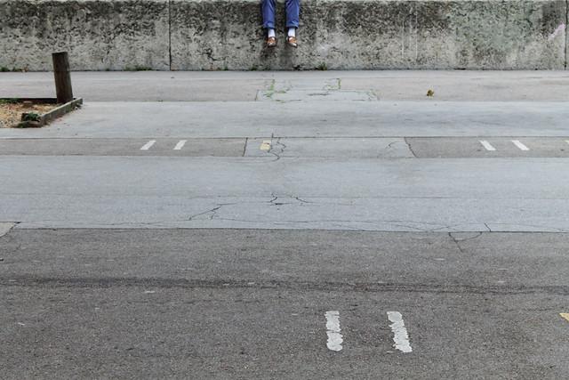 Legs - Minimalism in Street Photography