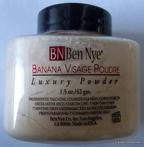 Ben Nye Banana Visage Poudre Luxury Powder Kim Kardashian Kardashians