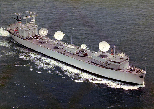 USNS Vanguard (ex.SS Mission San Fernandoas) as NASA Skylab tracking ship by AC Studio