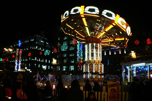 Fairground, George Square, Glasgow