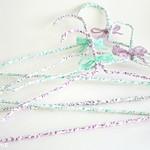 DIY fabric hangers